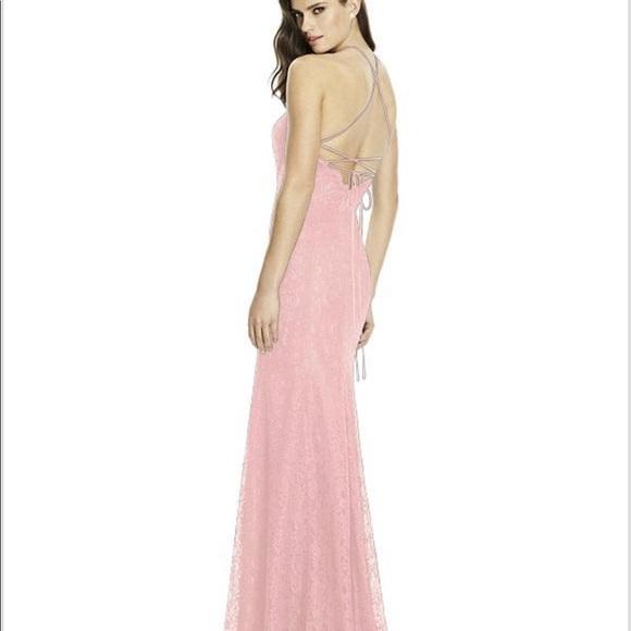 d01a485fabd Dessy2995Bridesmaid Dress Rose Pantone Rose Quartz